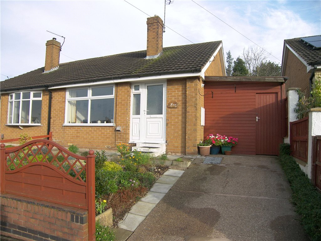 2 Bedrooms Semi Detached Bungalow for sale in Newlands Crescent, Newton, Derbyshire, DE55