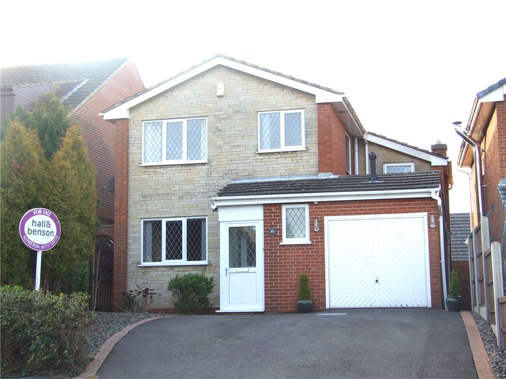 3 Bedrooms Detached House for sale in Monument Lane, Ironville, Nottingham, Nottinghamshire, NG16