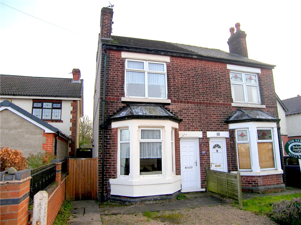 3 Bedrooms Semi Detached House for sale in Alfreton Road, South Normanton, Alfreton, Derbyshire, DE55