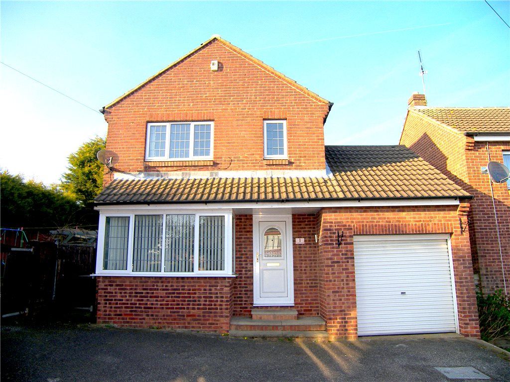 3 Bedrooms Detached House for sale in Copsewood, Broadmeadows, Alfreton, Derbyshire, DE55