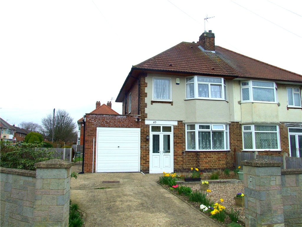 3 Bedrooms Semi Detached House for sale in Farm Drive, Alvaston, Derby, Derbyshire, DE24