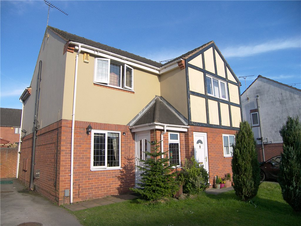2 Bedrooms Semi Detached House for sale in The Brockwell, South Normanton, Alfreton, Derbyshire, DE55