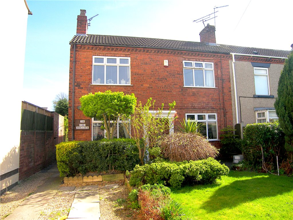 3 Bedrooms Semi Detached House for sale in North Street, Pinxton, Nottingham, Nottinghamshire, NG16