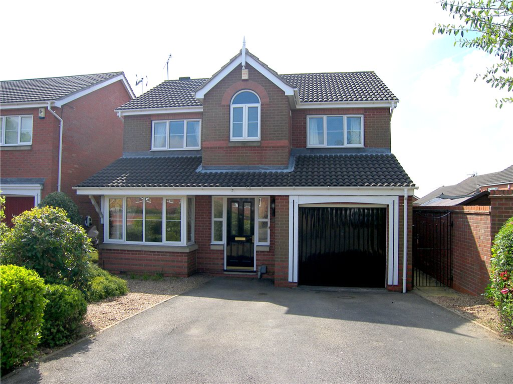 4 Bedrooms Detached House for sale in The Sycamores, South Normanton, Alfreton, Derbyshire, DE55