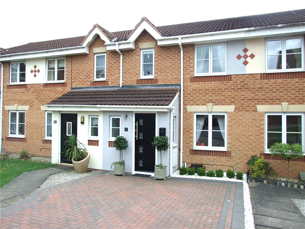 3 Bedrooms Terraced House for sale in Bella Close, Langley Mill, Nottingham, Nottinghamshire, NG16