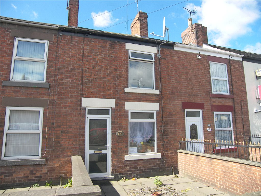 2 Bedrooms Terraced House for sale in Nottingham Road, Somercotes, Alfreton, Derbyshire, DE55