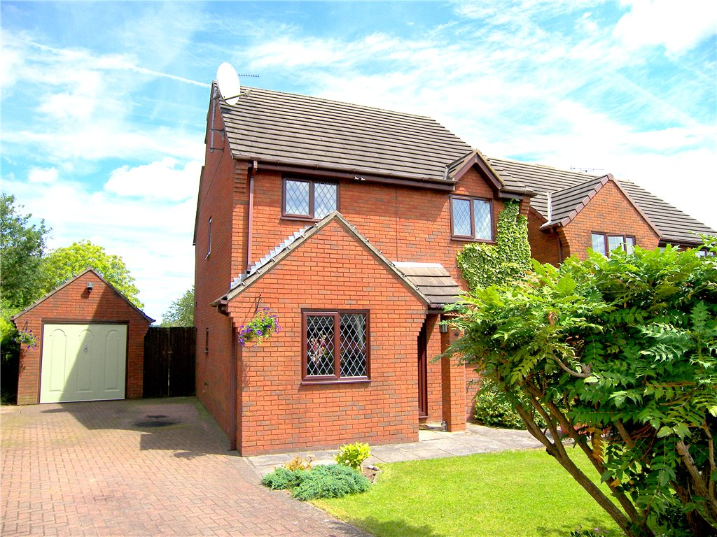 4 Bedrooms Detached House for sale in Meadow View, South Wingfield, Alfreton, Derbyshire, DE55