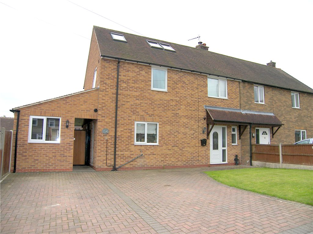 3 Bedrooms Semi Detached House for sale in Elm Tree Avenue, Shirland, Alfreton, Derbyshire, DE55