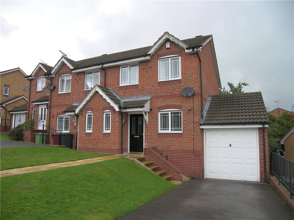 3 Bedrooms Semi Detached House for sale in Bramble Close, South Normanton, Alfreton, Derbyshire, DE55