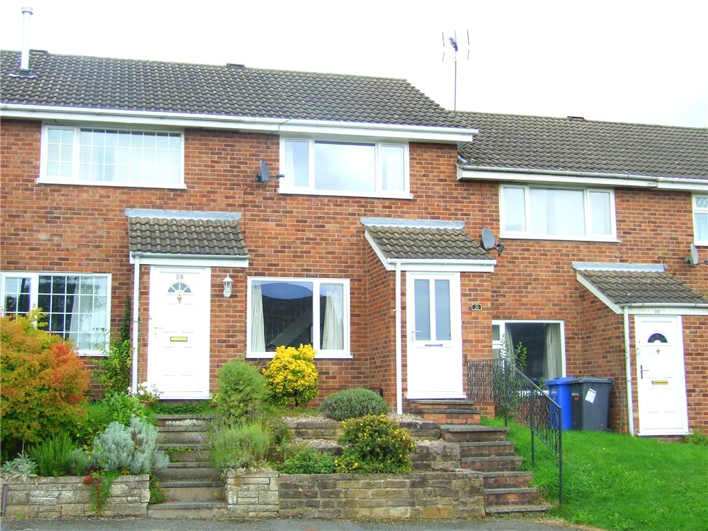 2 Bedrooms Terraced House for sale in Rockingham Close, Allestree, Derby, Derbyshire, DE22