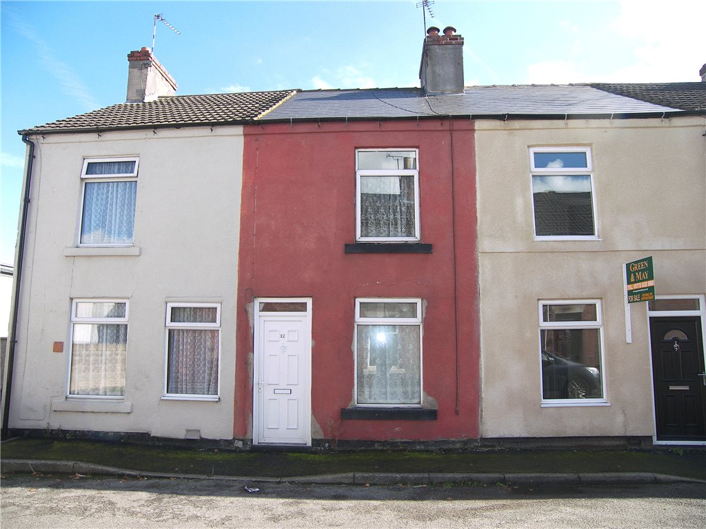 2 Bedrooms Terraced House for sale in John Street, Alfreton, Derbyshire, DE55