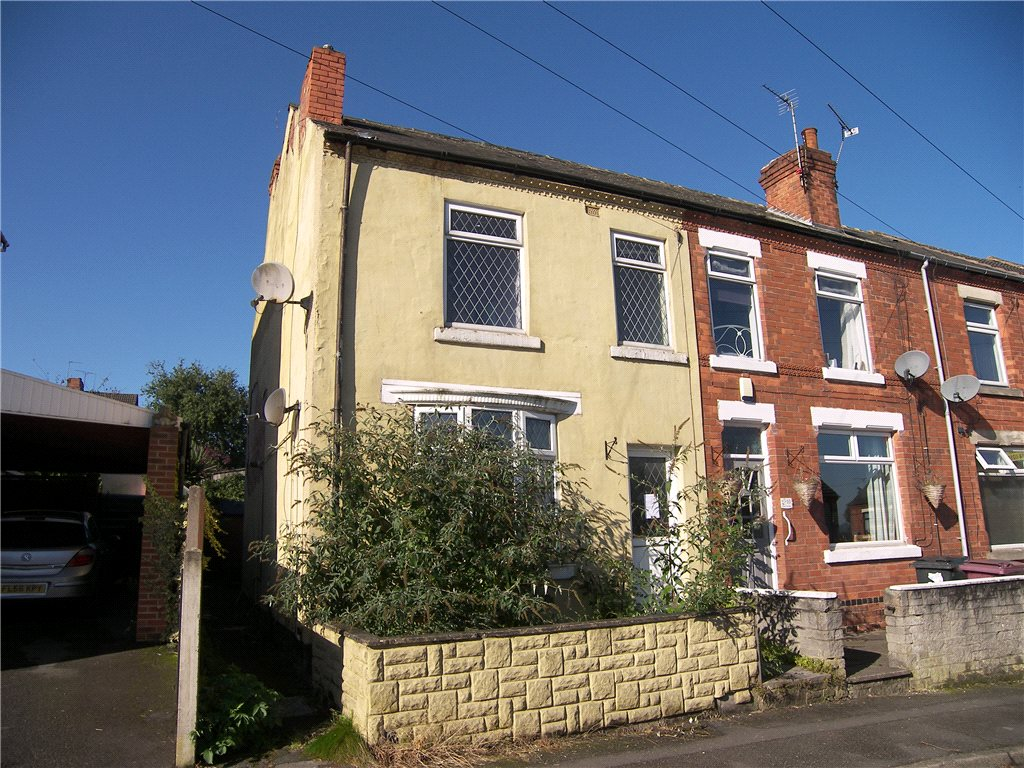 3 Bedrooms End Of Terrace House for sale in Peel Street, South Normanton, Alfreton, Derbyshire, DE55