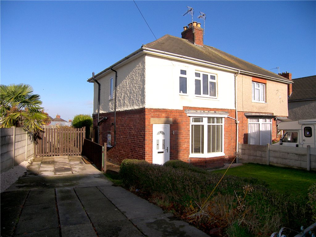 3 Bedrooms Semi Detached House for sale in Byron Avenue, Alfreton, Derbyshire, DE55