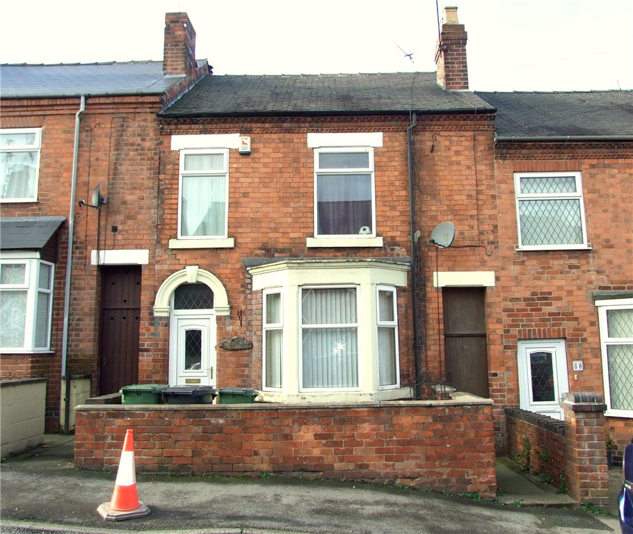 3 Bedrooms Terraced House for sale in Holbrook Street, Heanor, Derbyshire, DE75