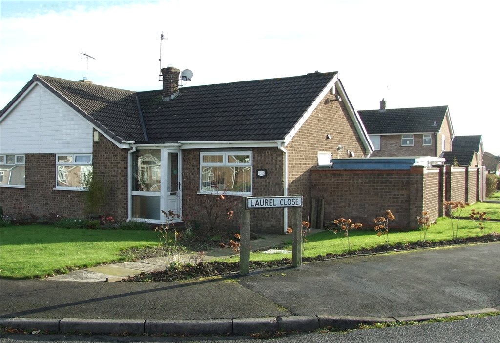 2 Bedrooms Semi Detached Bungalow for sale in Laurel Close, Swanwick, Alfreton, Derbyshire, DE55