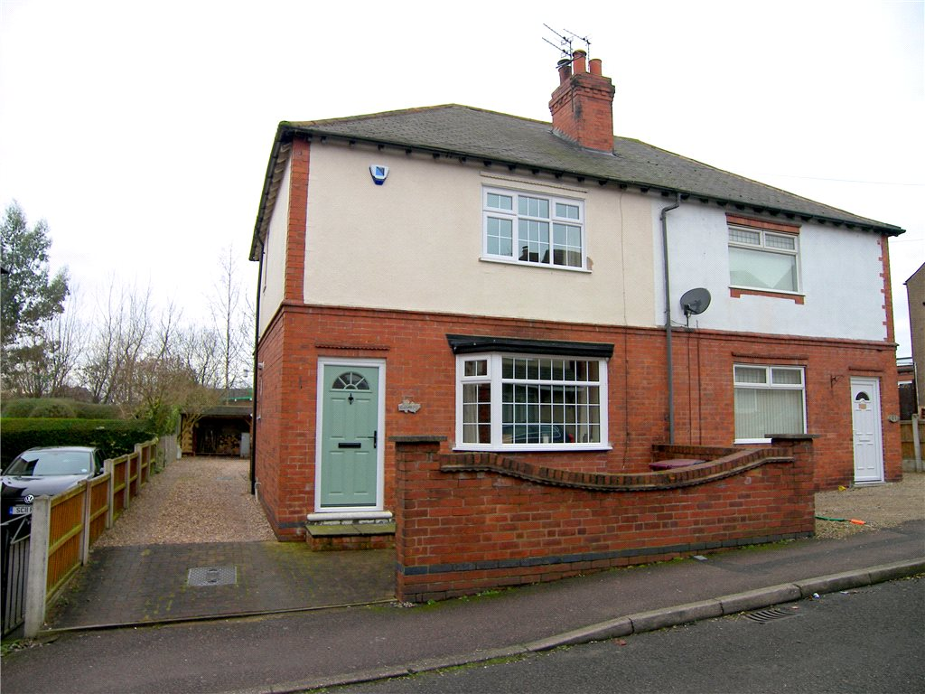 2 Bedrooms Semi Detached House for sale in Downing Street, South Normanton, Alfreton, Derbyshire, DE55
