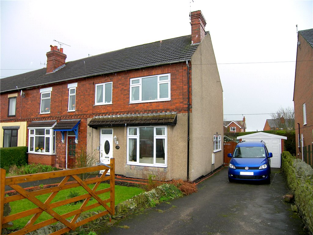 3 Bedrooms End Of Terrace House for sale in Wessington Lane, South Wingfield, Alfreton, Derbyshire, DE55