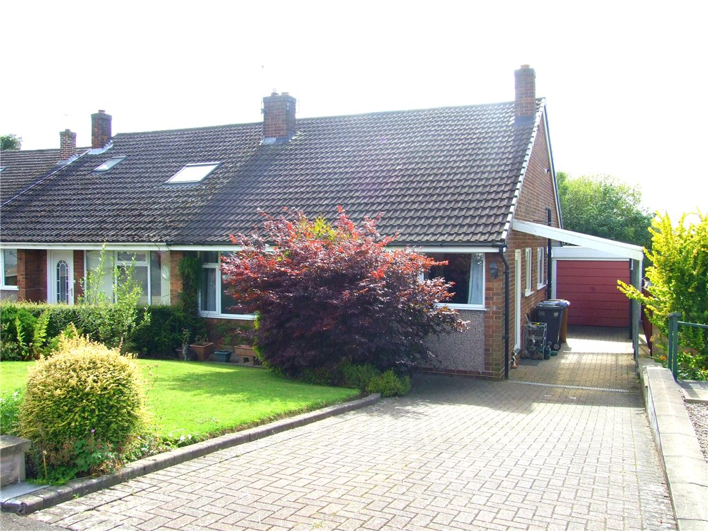 3 Bedrooms Semi Detached Bungalow for sale in Calder Close, Allestree, Derby, Derbyshire, DE22