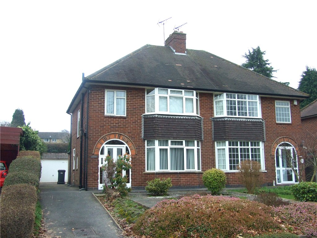 3 Bedrooms Semi Detached House for sale in Kedleston Road, Allestree, Derby, DE22
