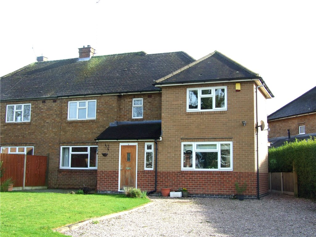 4 Bedrooms Semi Detached House for sale in Brook Close, Quarndon, Derby, Derbyshire, DE22