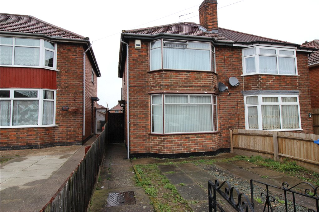 2 Bedrooms Semi Detached House for sale in Balfour Road, Derby, Derbyshire, DE23
