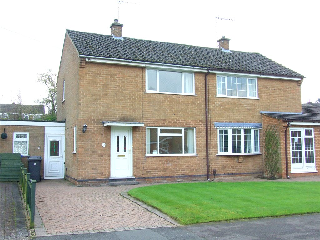 2 Bedrooms Semi Detached House for sale in Lea Close, Allestree, Derby, Derbyshire, DE22