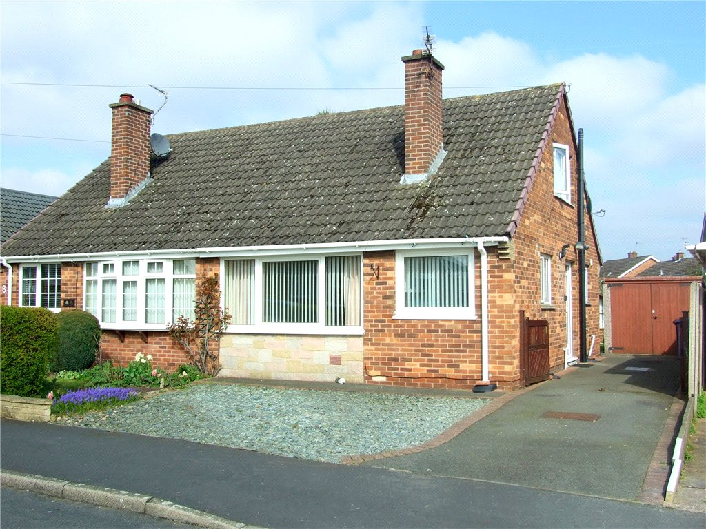 2 Bedrooms Semi Detached Bungalow for sale in Hulland View, Allestree, Derby, Derbyshire, DE22