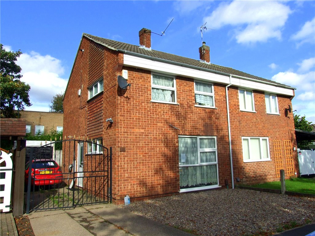 3 Bedrooms Semi Detached House for sale in Tiree Close, Sinfin, Derby, Derbyshire, DE24