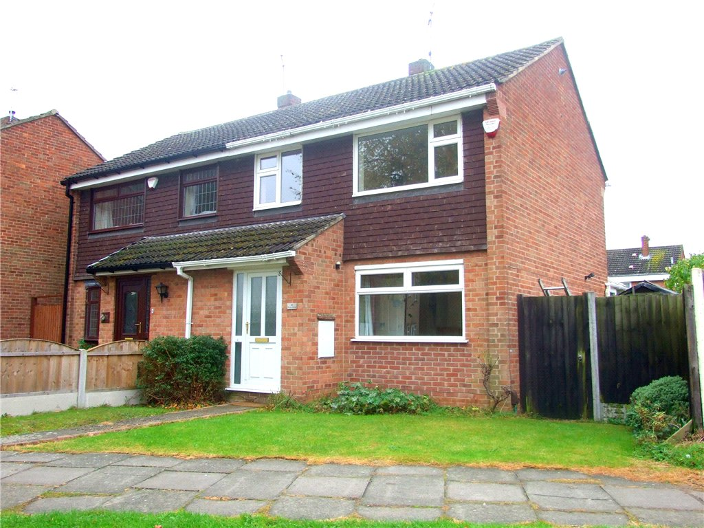 3 Bedrooms Semi Detached House for sale in Arran Close, Sinfin, Derby, Derbyshire, DE24