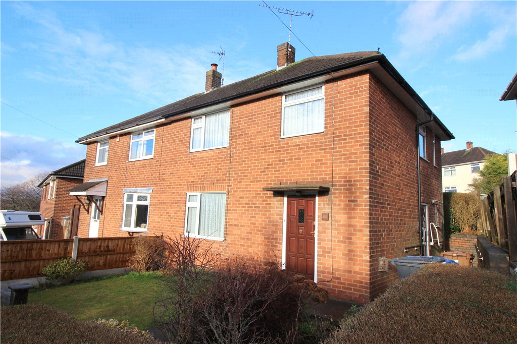 3 Bedrooms Semi Detached House for sale in Scarborough Rise, Breadsall Hill Top, Derby, DE21