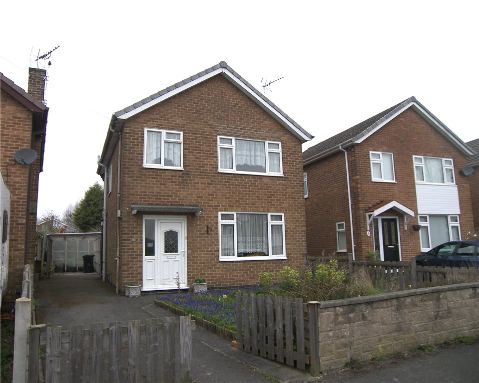 3 Bedrooms Detached House for sale in Deepdale Road, Belper, Derbyshire, DE56