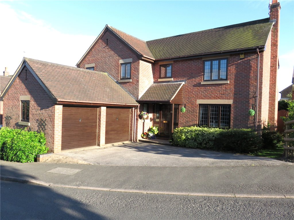 4 Bedrooms Detached House for sale in Bradshaw Drive, Holbrook, Belper, Derbyshire, DE56