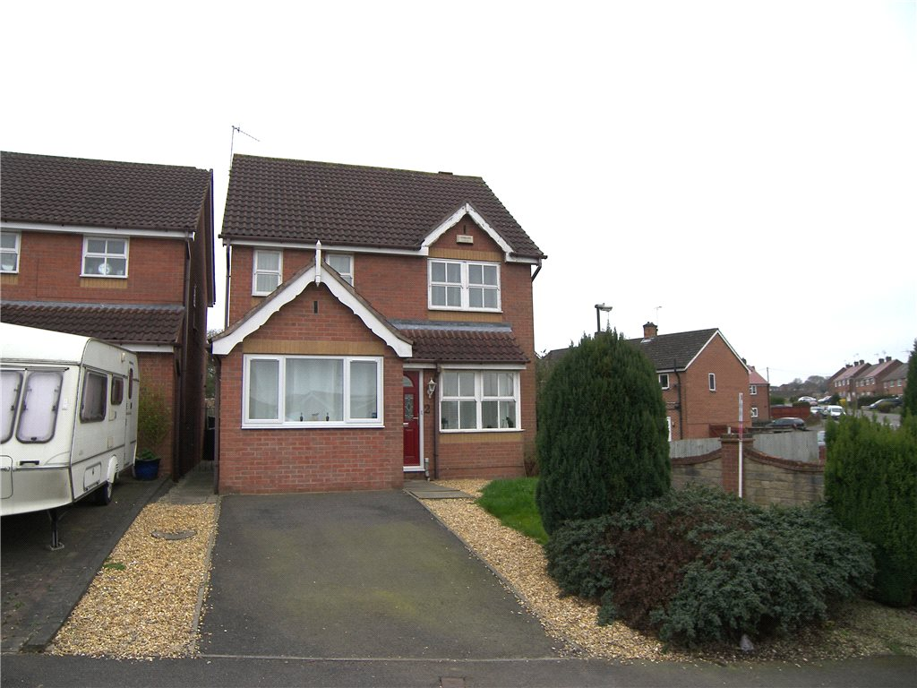 3 Bedrooms Detached House for sale in Walnut Road, Belper, Derbyshire, DE56