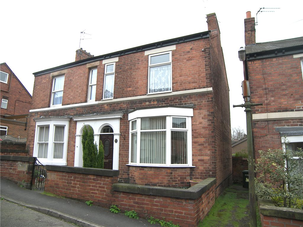 2 Bedrooms Semi Detached House for sale in The Orchard, Belper, Derbyshire, DE56