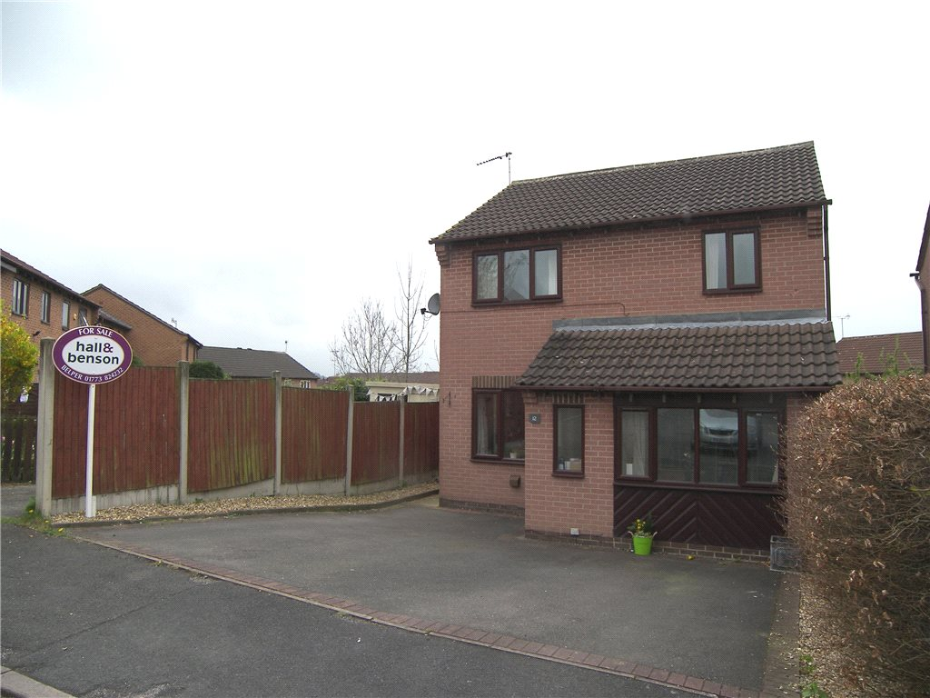 3 Bedrooms Detached House for sale in Courtney Way, Belper, Derbyshire, DE56