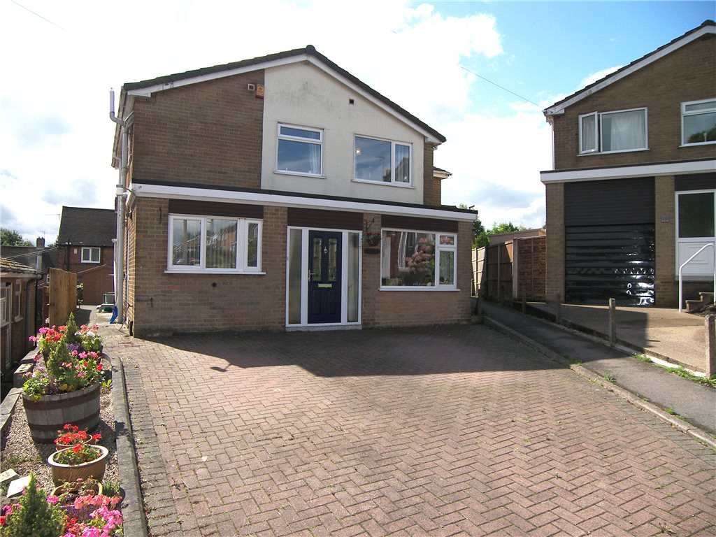 4 Bedrooms Detached House for sale in Bessalone Drive, Belper, Derbyshire, DE56