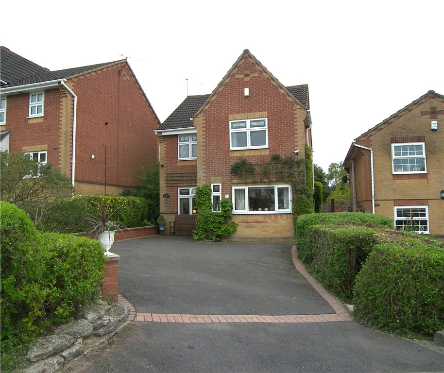 3 Bedrooms Detached House for sale in Brafield Close, Belper, Derbyshire, DE56