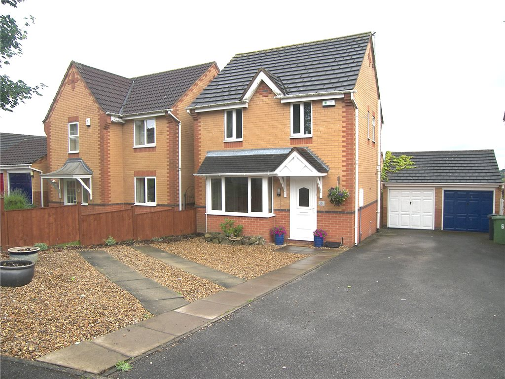 3 Bedrooms Detached House for sale in Findern Close, Belper, Derbyshire, DE56