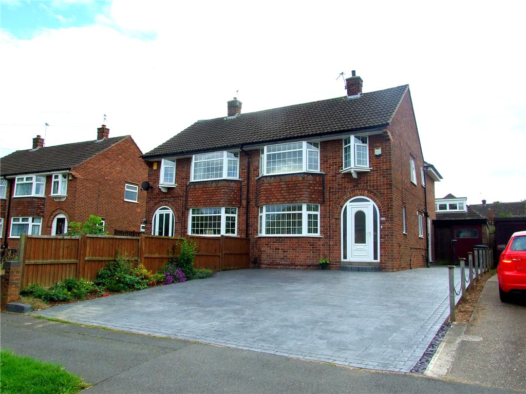 4 Bedrooms Semi Detached House for sale in Blenheim Drive, Allestree, Derby, Derbyshire, DE22