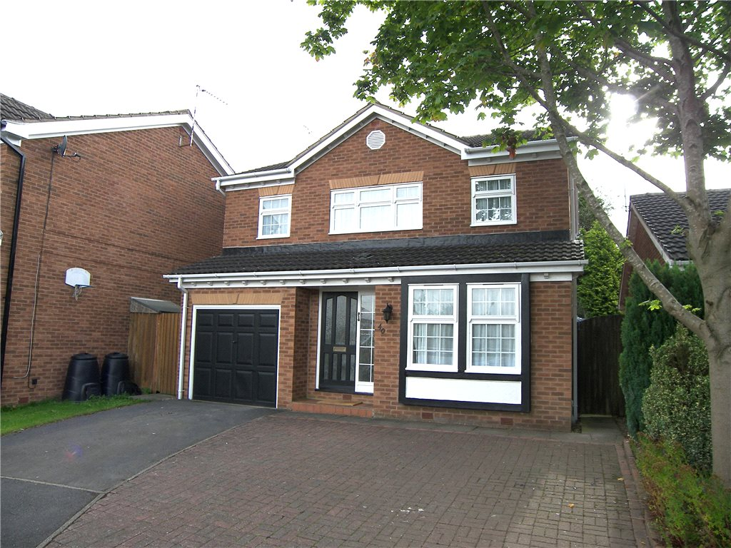 4 Bedrooms Detached House for sale in Royston Drive, Belper, Derbyshire, DE56