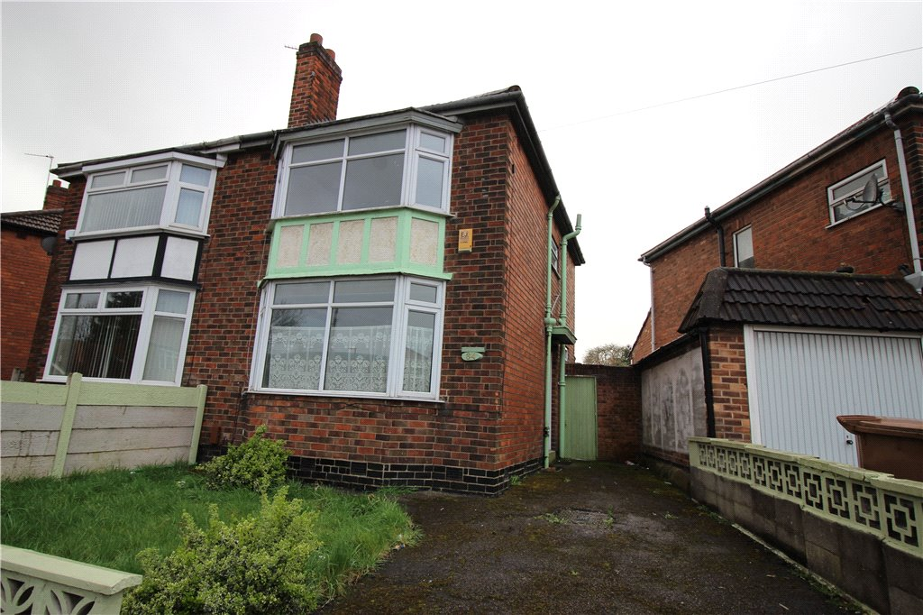 2 Bedrooms Semi Detached House for sale in Pear Tree Crescent, Pear Tree, Derby, Derbyshire, DE23