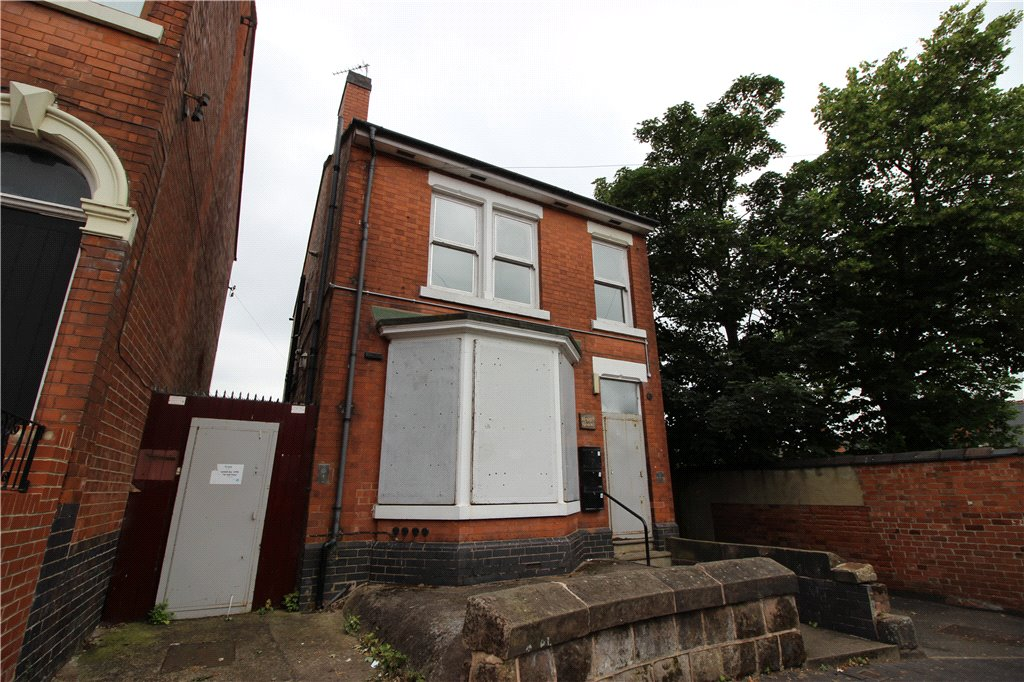 1 Bedroom Flat for sale in Mount Carmel Street, Derby, Derbyshire, DE23