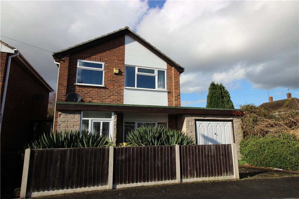 3 Bedrooms Detached House for sale in Avonmouth Drive, Alvaston, Derby, Derbyshire, DE24
