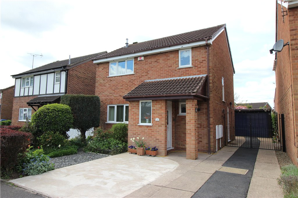 3 Bedrooms Detached House for sale in Hobkirk Drive, Sinfin, Derby, Derbyshire, DE24