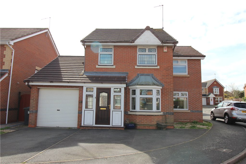 4 Bedrooms Detached House for sale in Slade Lands Drive, Chellaston, Derby, Derbyshire, DE73