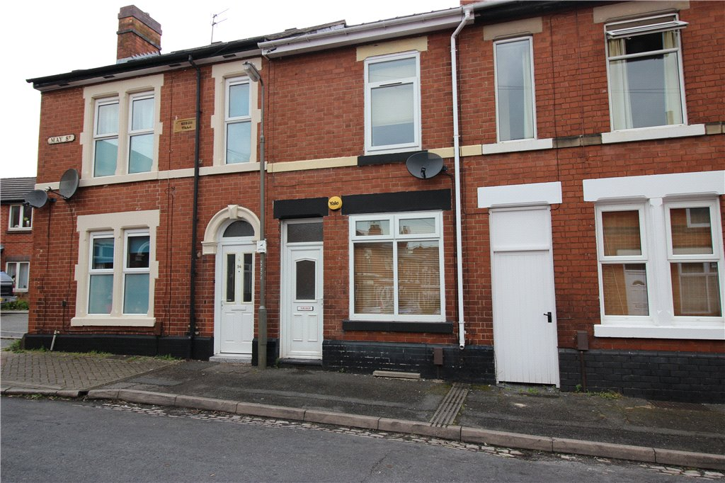 2 Bedrooms Terraced House for sale in May Street, Derby, Derbyshire, DE22