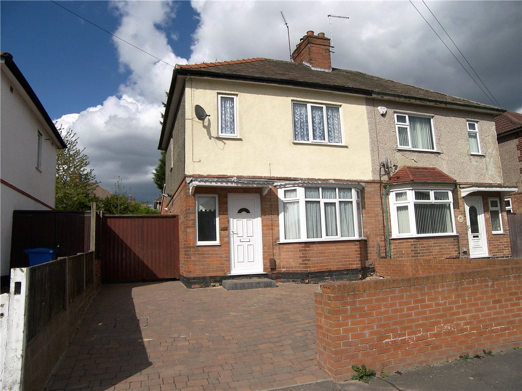 3 Bedrooms Semi Detached House for sale in Masefield Avenue, Sunnyhill, Derby, Derbyshire, DE23