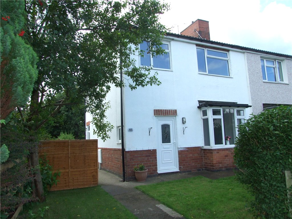 3 Bedrooms Semi Detached House for sale in Broadway, Heanor, Derbyshire, DE75