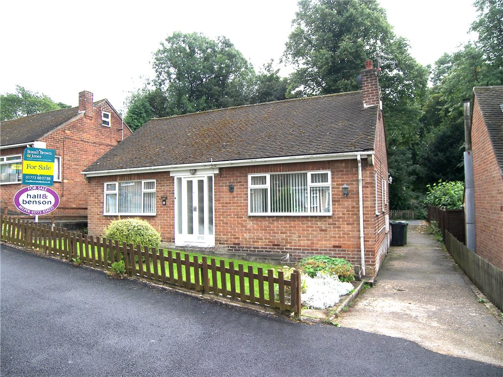 2 Bedrooms Bungalow for sale in Charnwood Avenue, Belper, Derbyshire, DE56
