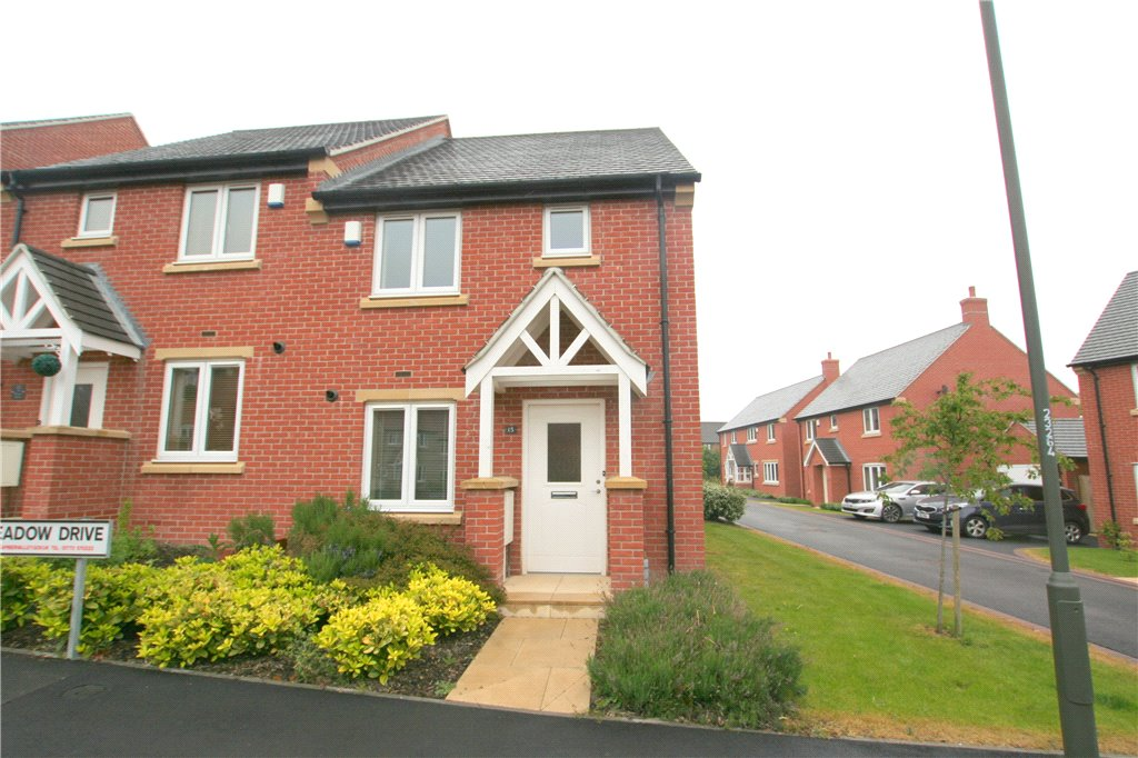2 Bedrooms Semi Detached House for sale in Meadow Drive, Smalley, Derbyshire, DE7